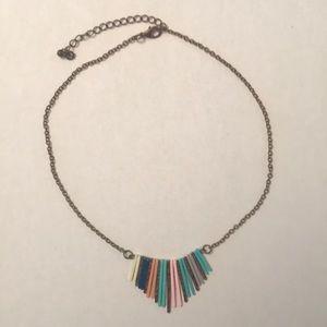 Anthropologie short necklace